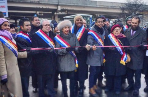 Three Kings Parade Ribbon Cutting
