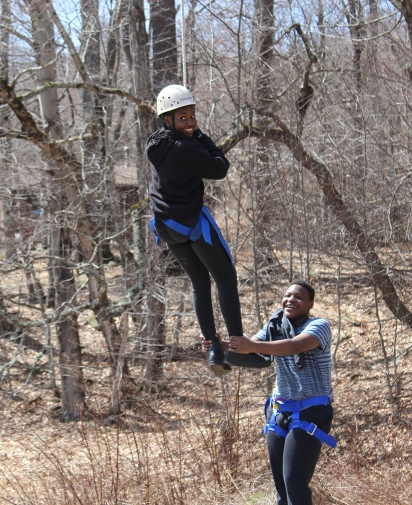 Apr Leadership retreat zipline WEB