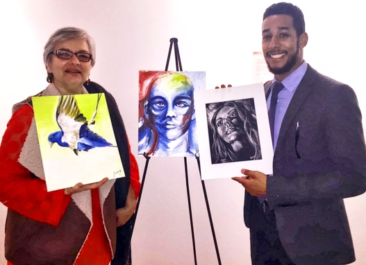 CM AR art auction