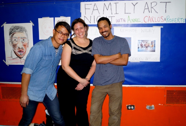 JMF Family Art Night 01 OL GL