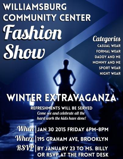 Winter Extravaganza Flyer