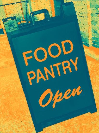 Food Pantry sign 001