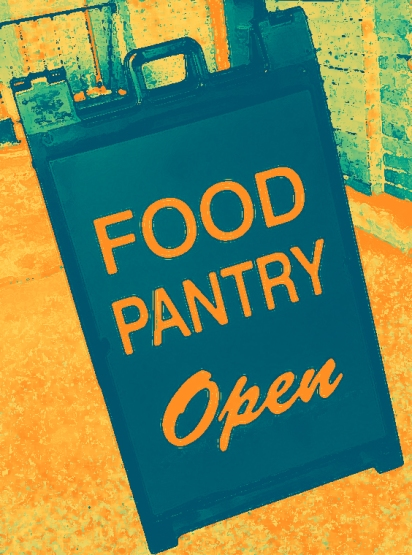 Food Pantry sign 001