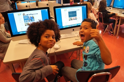Can you feel the enthusiasm for tech-based knowledge?
