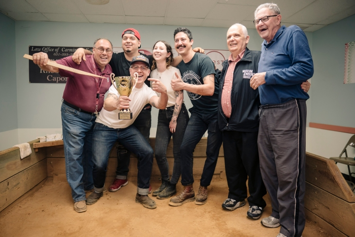 2018 Bocce Winners w Lentol de Beered