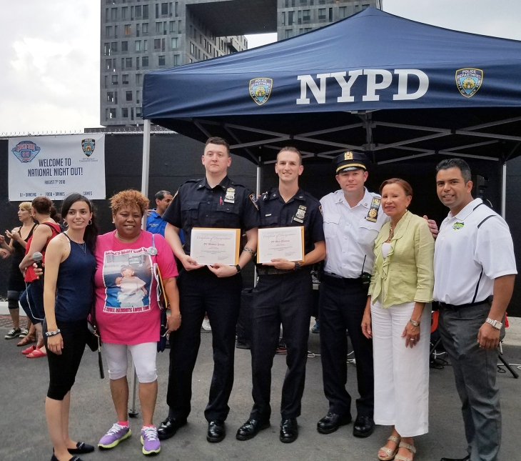 90th Pct National Night Out at Domino Park