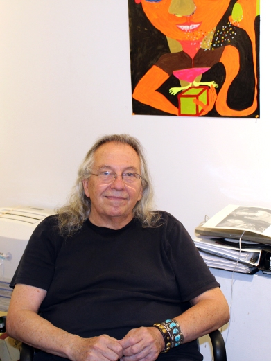 Richard Timperio, owner/founder of Sideshow Gallery