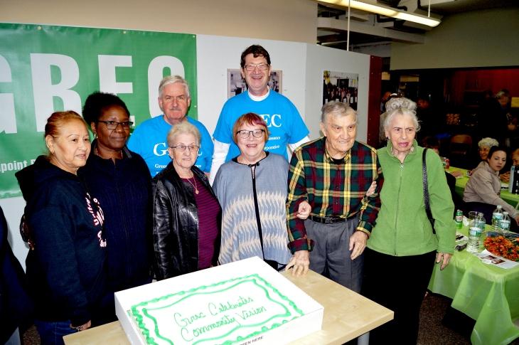 GREC celebrates 021 GREC group cake