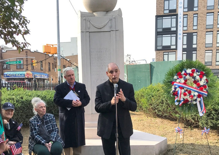Armistice Day 2019 001 Fr. Tom MR Guido Tish